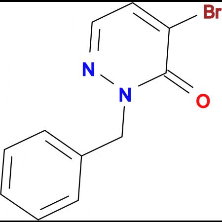 2-Benzyl-4-bromopyridazin-3(2H)-one