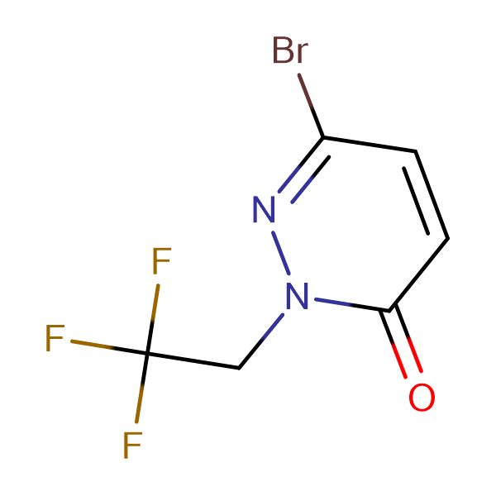 6-Bromo-2-(2,2,2-trifluoroethyl)pyridazin-3(2H)-one
