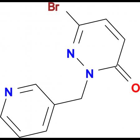 6-Bromo-2-(pyridin-3-ylmethyl)pyridazin-3(2H)-one