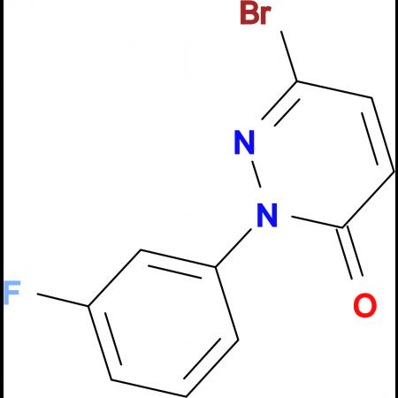 6-Bromo-2-(3-fluorophenyl)pyridazin-3(2H)-one
