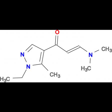 (2Z)-3-(dimethylamino)-1-(1-ethyl-5-methyl-1H-pyrazol-4-yl)prop-2-en-1-one