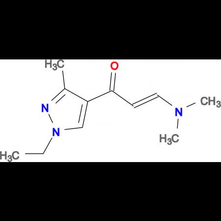 (2Z)-3-(dimethylamino)-1-(1-ethyl-3-methyl-1H-pyrazol-4-yl)prop-2-en-1-one