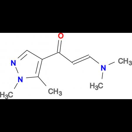 (2Z)-3-(dimethylamino)-1-(1,5-dimethyl-1H-pyrazol-4-yl)prop-2-en-1-one