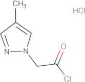 (4-methyl-1H-pyrazol-1-yl)acetyl chloride