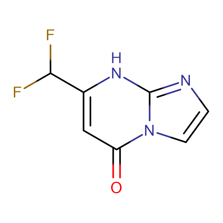 7-(difluoromethyl)imidazo[1,2-a]pyrimidin-5(8H)-one