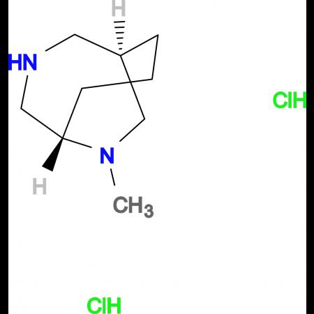rac-(1S,5R)-9-methyl-3,9-diazabicyclo[3.3.2]decane dihydrochloride