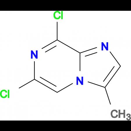 6,8-Dichloro-3-methylimidazo[1,2-a]pyrazine