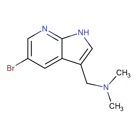 1-(5-Bromo-1H-pyrrolo[2,3-b]pyridin-3-yl)-N,N-dimethylmethanamine
