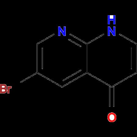 6-Bromo-1,8-naphthyridin-4(1H)-one