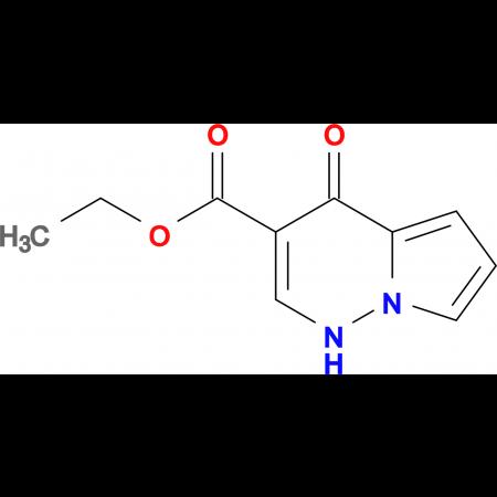 Ethyl 4-oxo-1,4-dihydropyrrolo[1,2-b]pyridazine-3-carboxylate