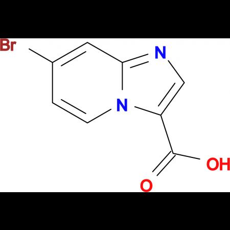7-Bromoimidazo[1,2-a]pyridine-3-carboxylic acid