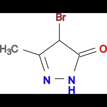 4-Bromo-3-methyl-1H-pyrazol-5(4H)-one