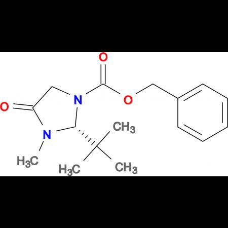 (R)-Benzyl 2-(tert-butyl)-3-methyl-4-oxoimidazolidine-1-carboxylate