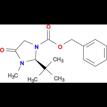 (S)-Benzyl 2-(tert-butyl)-3-methyl-4-oxoimidazolidine-1-carboxylate