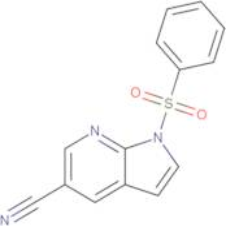 1-(Phenylsulfonyl)-1H-pyrrolo[2,3-b]pyridine-5-carbonitrile