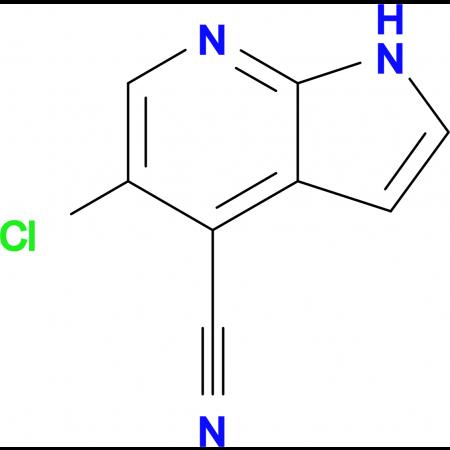 5-Chloro-1H-pyrrolo[2,3-b]pyridine-4-carbonitrile
