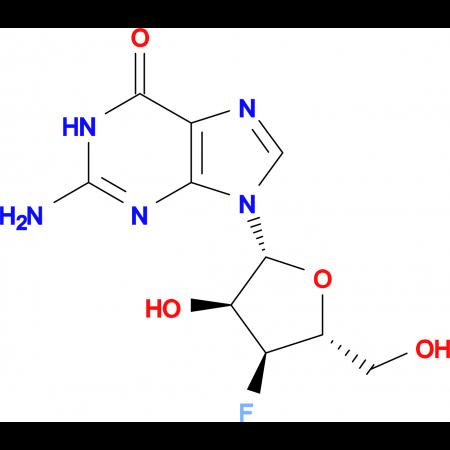 2-Amino-9-((2R,3S,4S,5R)-4-fluoro-3-hydroxy-5-(hydroxymethyl)tetrahydrofuran-2-yl)-1H-purin-6(9H)-one