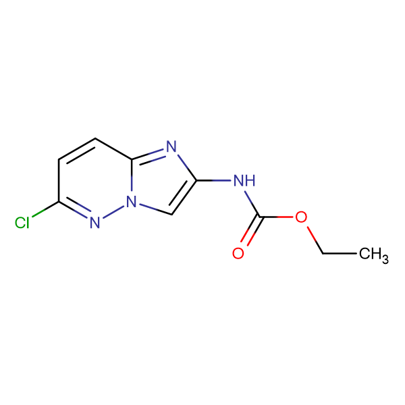 Ethyl (6-chloroimidazo[1,2-b]pyridazin-2-yl)carbamate