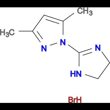 1-(4,5-Dihydro-1H-imidazol-2-yl)-3,5-dimethyl-1H-pyrazole hydrobromide