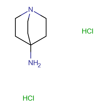 1-Azabicyclo[2.2.2]octan-4-amine dihydrochloride