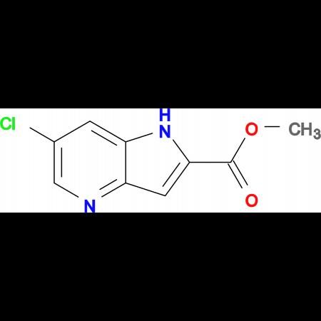 6-Chloro-1H-pyrrolo[3,2-b]pyridine-2-carboxylic acid methyl ester