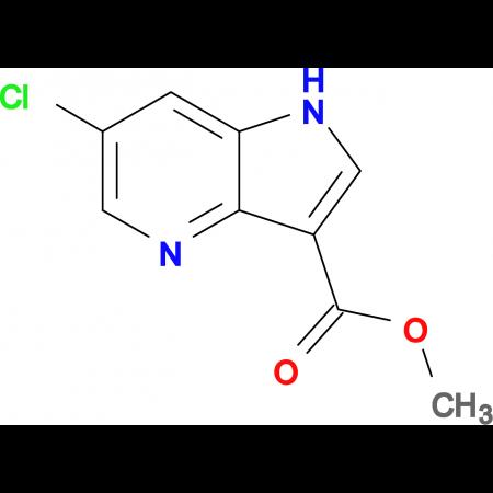 Methyl 6-chloro-1H-pyrrolo[3,2-b]pyridine-3-carboxylate