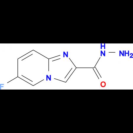 6-Fluoroimidazo[1,2-a]pyridine-2-carbohydrazide