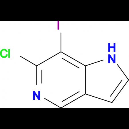 6-Chloro-7-iodo-1H-pyrrolo[3,2-c]pyridine