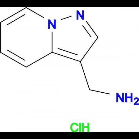 Pyrazolo[1,5-a]pyridin-3-ylmethanamine hydrochloride
