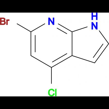 6-Bromo-4-chloro-1H-pyrrolo[2,3-b]pyridine