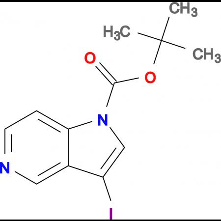 tert-Butyl 3-iodo-1H-pyrrolo[3,2-c]pyridine-1-carboxylate