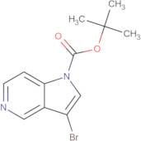 tert-Butyl 3-bromo-1H-pyrrolo[3,2-c]pyridine-1-carboxylate