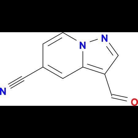 3-Formylpyrazolo[1,5-a]pyridine-5-carbonitrile