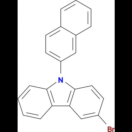 3-Bromo-9-(naphthalen-2-yl)-9H-carbazole
