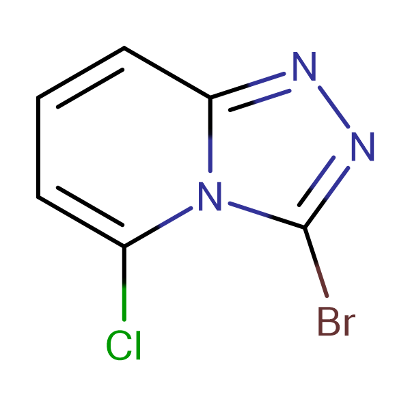 3-Bromo-5-chloro-[1,2,4]triazolo[4,3-a]pyridine