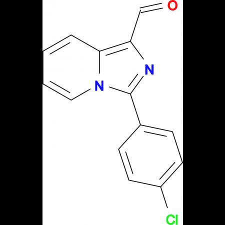 3-(4-Chlorophenyl)imidazo[1,5-a]pyridine-1-carbaldehyde