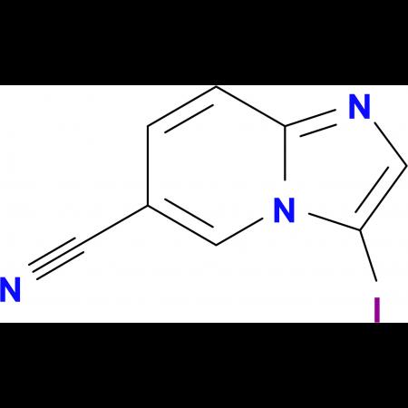 3-Iodoimidazo[1,2-a]pyridine-6-carbonitrile
