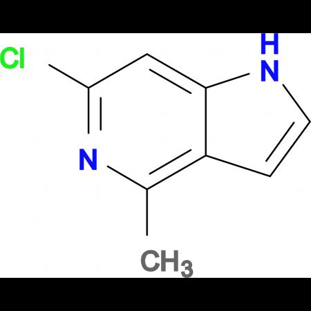 6-Chloro-4-methyl-1H-pyrrolo[3,2-c]pyridine