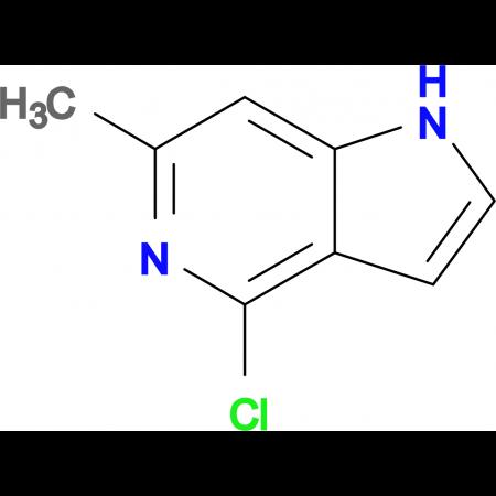 4-Chloro-6-methyl-1H-pyrrolo[3,2-c]pyridine