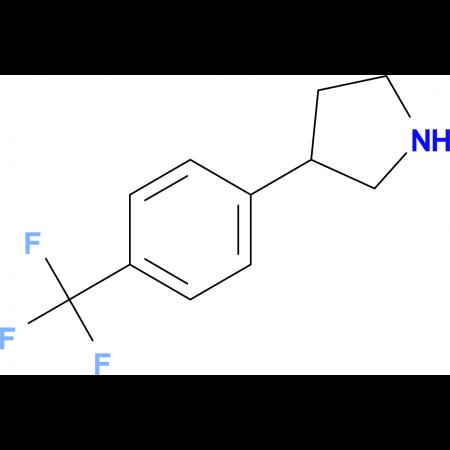 3-(4-(Trifluoromethyl)phenyl)pyrrolidine