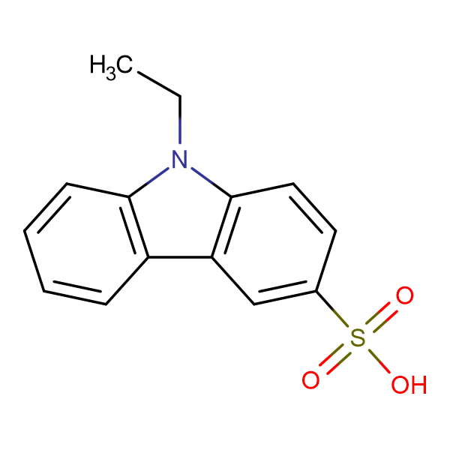 9-Ethyl-9H-carbazole-3-sulfonic acid