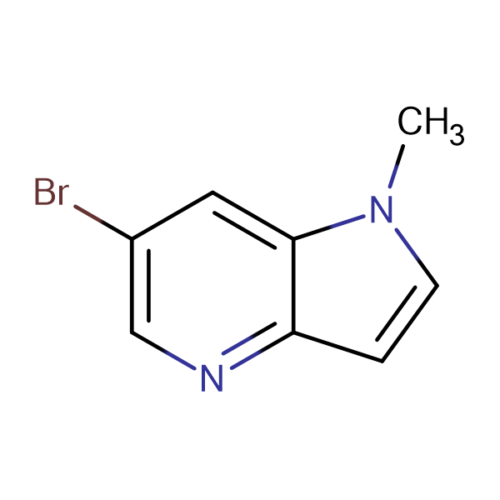 6-Bromo-1-methyl-1H-pyrrolo[3,2-b]pyridine