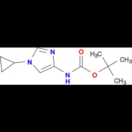 tert-Butyl (1-cyclopropyl-1H-imidazol-4-yl)carbamate