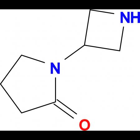 1-(Azetidin-3-yl)pyrrolidin-2-one