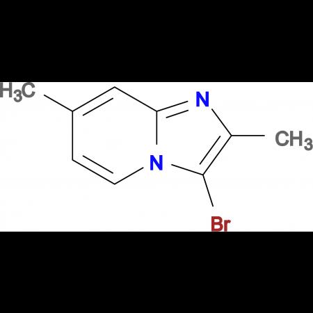 3-Bromo-2,7-dimethylimidazo[1,2-a]pyridine
