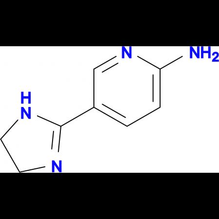 5-(4,5-Dihydro-1H-imidazol-2-yl)pyridin-2-amine