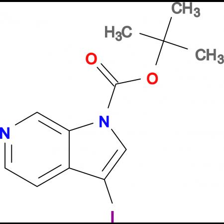 tert-Butyl 3-iodo-1H-pyrrolo[2,3-c]pyridine-1-carboxylate