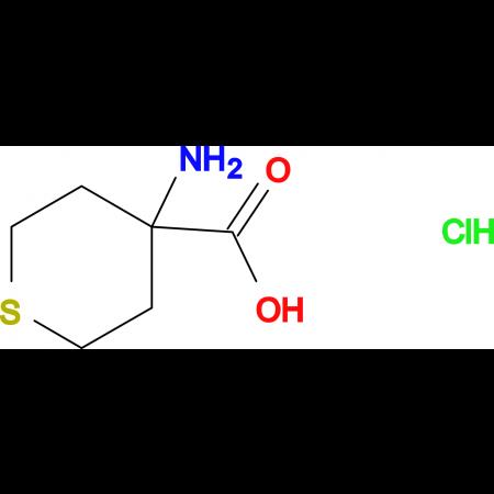 4-Aminotetrahydro-2H-thiopyran-4-carboxylic acid hydrochloride