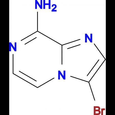 3-Bromoimidazo[1,2-a]pyrazin-8-amine