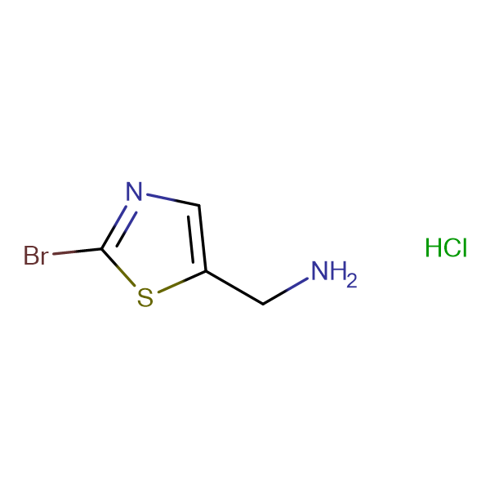 (2-Bromothiazol-5-yl)methanamine hydrochloride